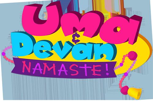 Uma & Devan Namaste!